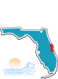 Brevard County DUI Program location map
