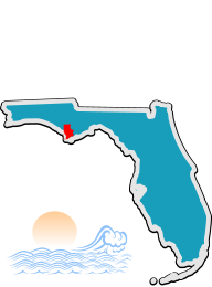 Gulf County DUI Program location map