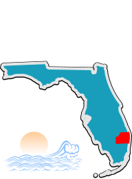 Palm Beach County DUI Program location map
