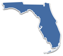 Map of locations of DUI Schools in Florida
